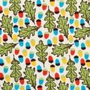 DUNS Sweden organic cotton ladies Acorn and oak leaf print top 1