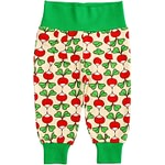 Radishes print by DUNS Sweden - organic cotton baby trousers