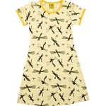 Yellow dragonfly print dress by DUNS Sweden More than a fling range