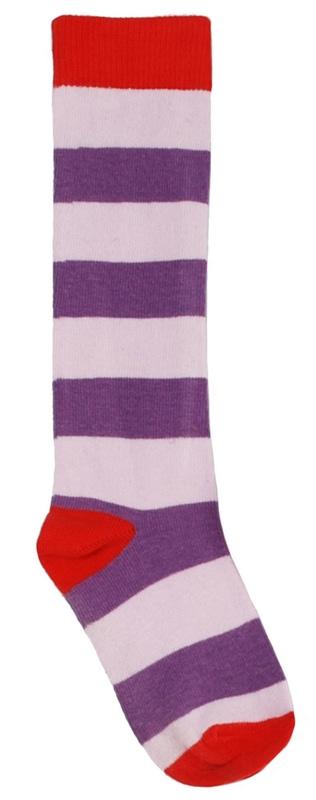More than a Fling purple cat print organic cotton long sleeve dress 2