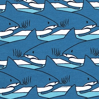 Villervalla organic cotton t-shirt - Shark 3