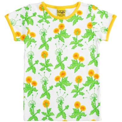 DUNS Sweden Dandelion print organic cotton t-shirt (9m) 1