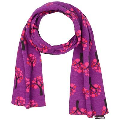 Organic cotton scarf in apple tree print by Maxomorra