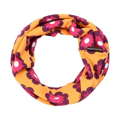 Petunia organic cotton tube scarf