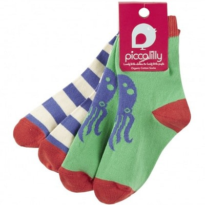 Anchor and octopus socks from Piccallilly