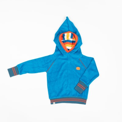 Alba Methyl blue terry habian hoody