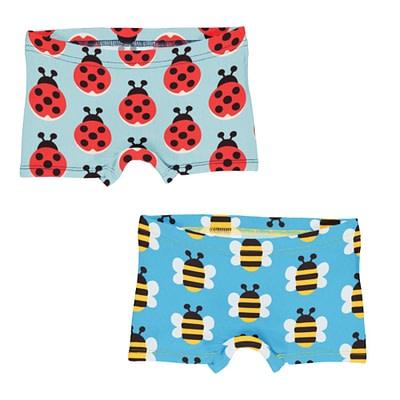 Maxomorra Ladybug Bumblebee boxer briefs