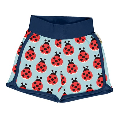 Maxomorra ladybird runner shorts