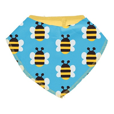 Maxomorra bee dribble bib