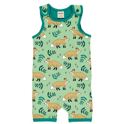 Meyadey wild fox short playsuit