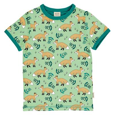 Meyadey wild fox organic t-shirt