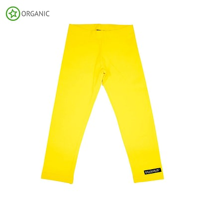 Villervalla yellow organic leggings