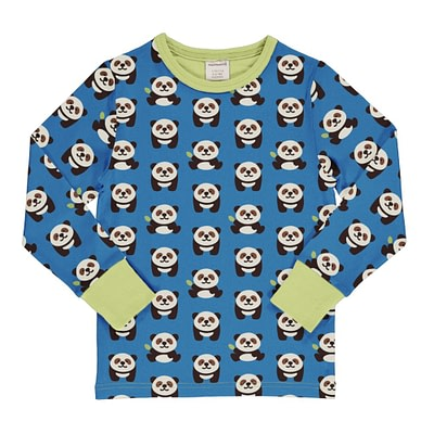 Maxomorra playful panda top
