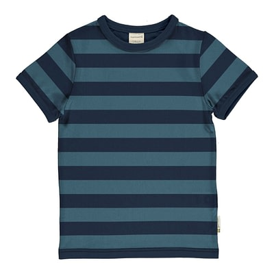 Maxomorra navy striped t-shirt