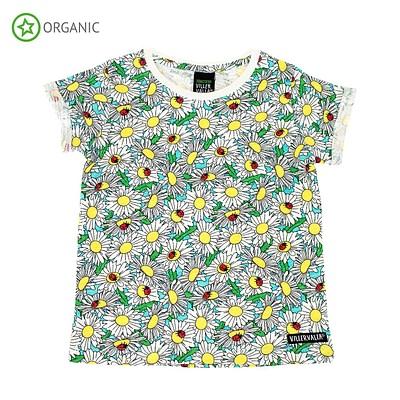 Villervalla ethical daisy t-shirt