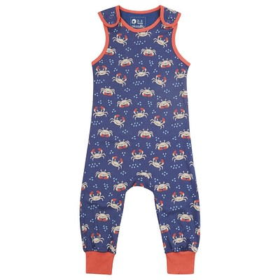 Piccalilly crab dungarees