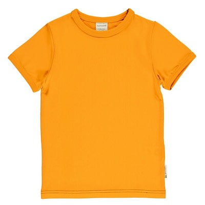 Maxomorra ethical t-shirt tangerine