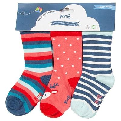 Kite reindeer organic socks