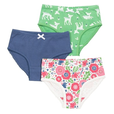 Kite deer flora ethical underwear girls