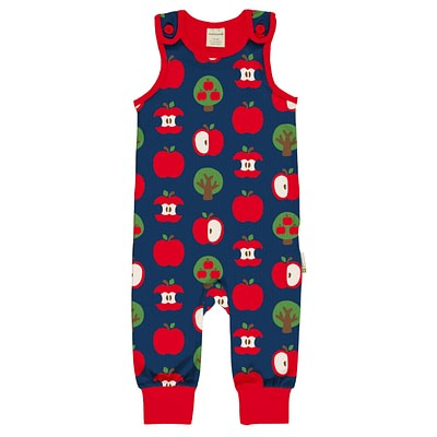 Maxomorra dungarees apple