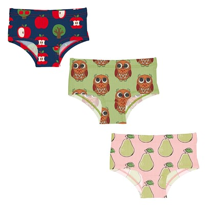Maxomorra hipster knickers owl pear apple