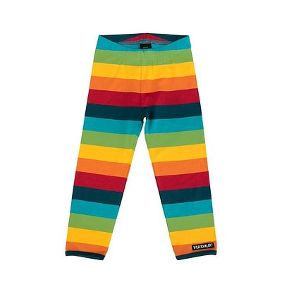 Villervalla leggings rainbow stripes - Athens