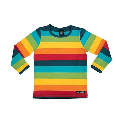Villervalla top in rainbow stripes - Athens