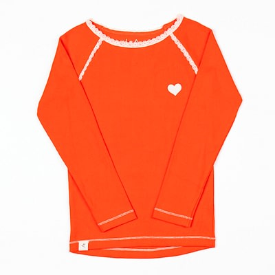 Alba of Denmark Ghita blouse spicy orange