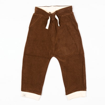 Alba Lucca baby pants - Chocolate Terry