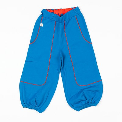 Alba hobo pants in snorkel blue