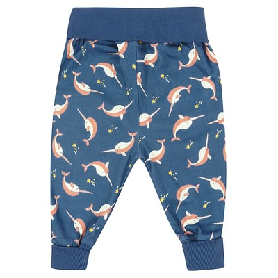 Piccalilly narwhal pull up pants
