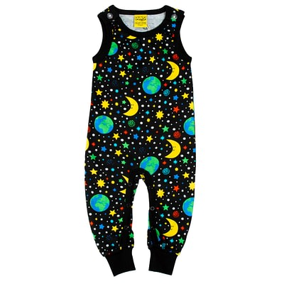 DUNS Sweden dungarees mother earth black