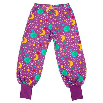 DUNS Sweden baggy pants mother earth violet