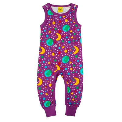DUNS Sweden dungarees mother earth violet