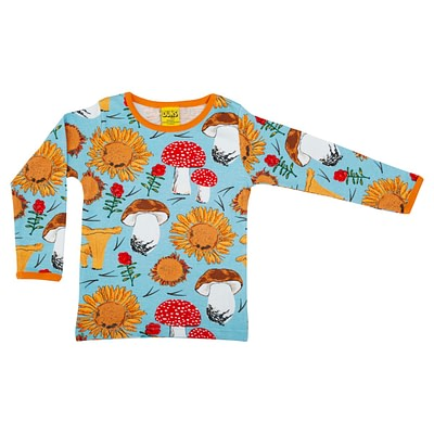 DUNS Sweden top blue sunflower