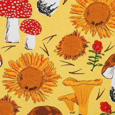 DUNS Sweden sunflower mushroom yellow