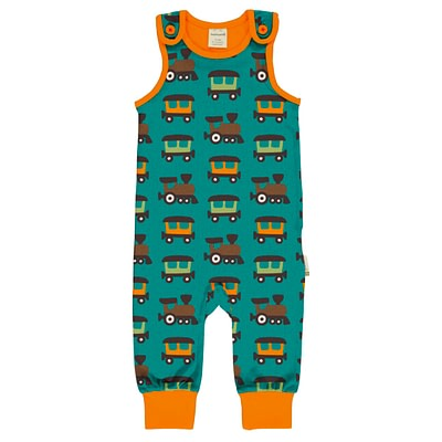 Maxomorra dungarees train