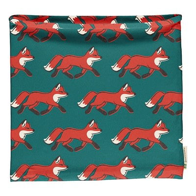 Maxomorra tube scarf foxes