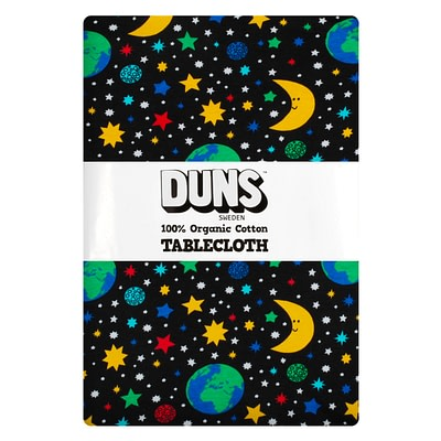 DUNS Sweden tablecloth mother earth black