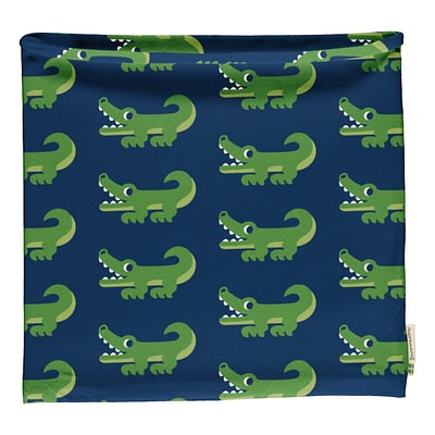 Maxomorra tube scarf crocodile