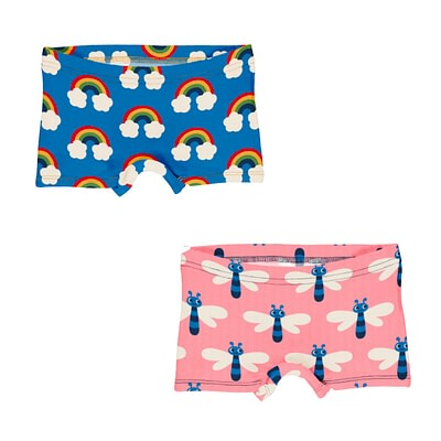 Maxomorra boxer briefs knickers rainbow dragonfly