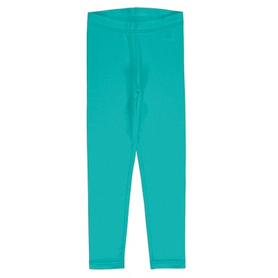 Maxomorra solid leggings aqua