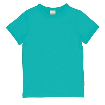 Maxomorra t-shirt aqua blue