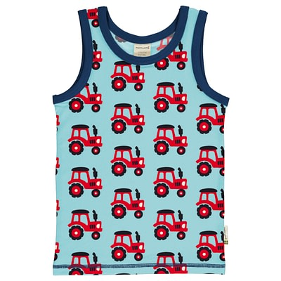 Maxomorra sleeveless vest tractor