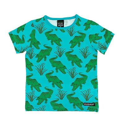 Villervalla t-shirt crocodile