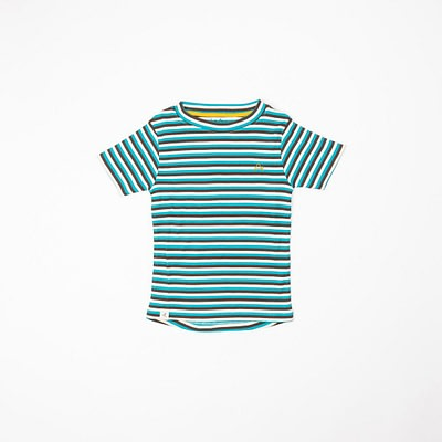 Alba of Denmark Algiers blue stripes Bell t-shirt