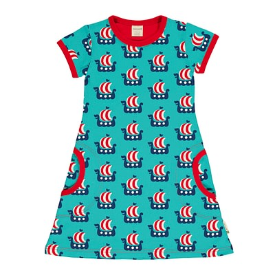 Maxomorra viking ship dress