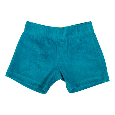 DUNS Sweden terry shorts lake blue
