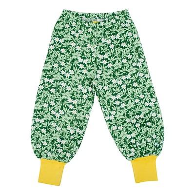 DUNS Sweden baggy pants wood anemone green
