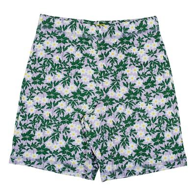 DUNS Sweden wood anemone shorts viola